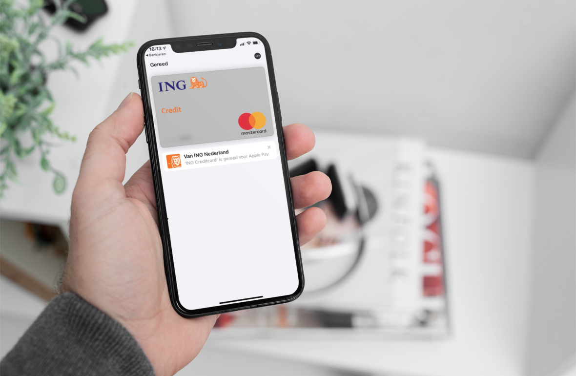 ING Creditcard Apple Pay