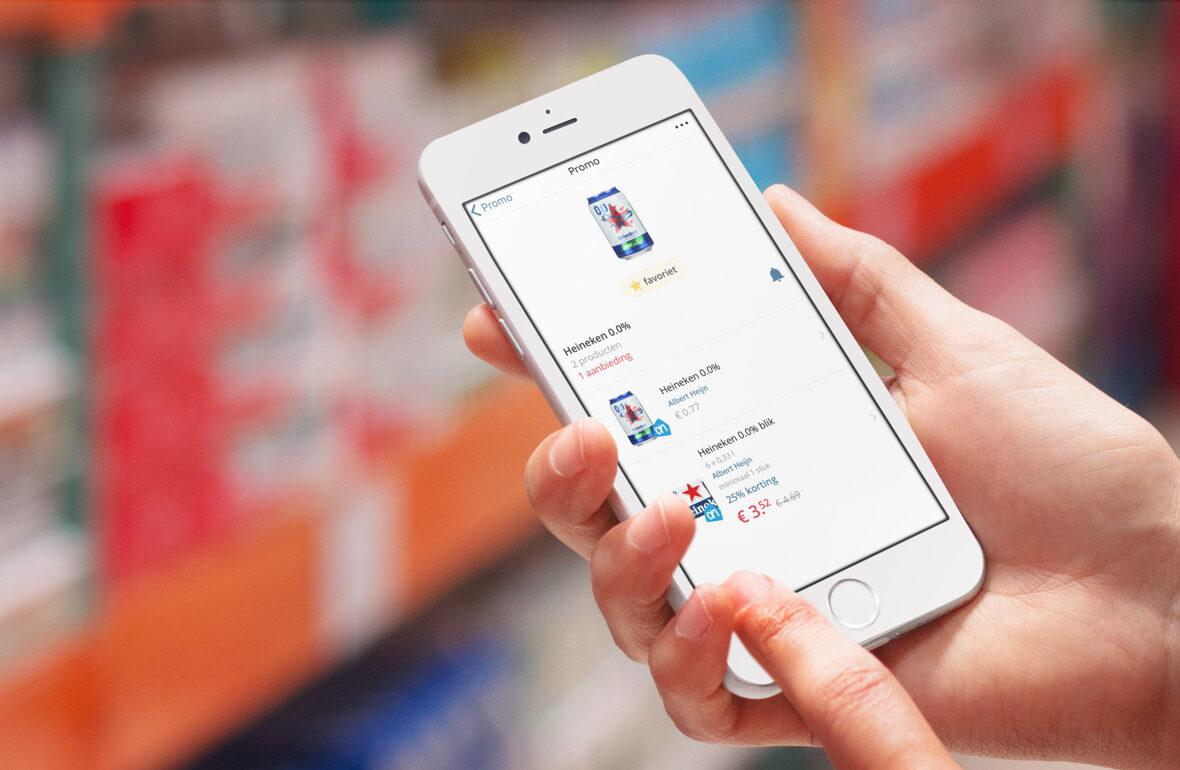 Promo app: op de hoogte van aanbiedingen