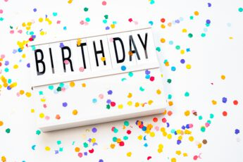 Gratis op je verjaardag